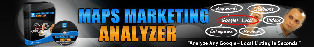Local Maps Analyzer For Maps Marketing