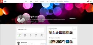 Google + George Napoli